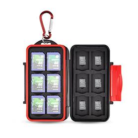 Anti-shock Memory Card Holder