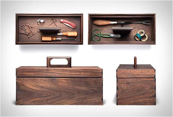 Kaufmann Mercantile Walnut Tool Box | Image