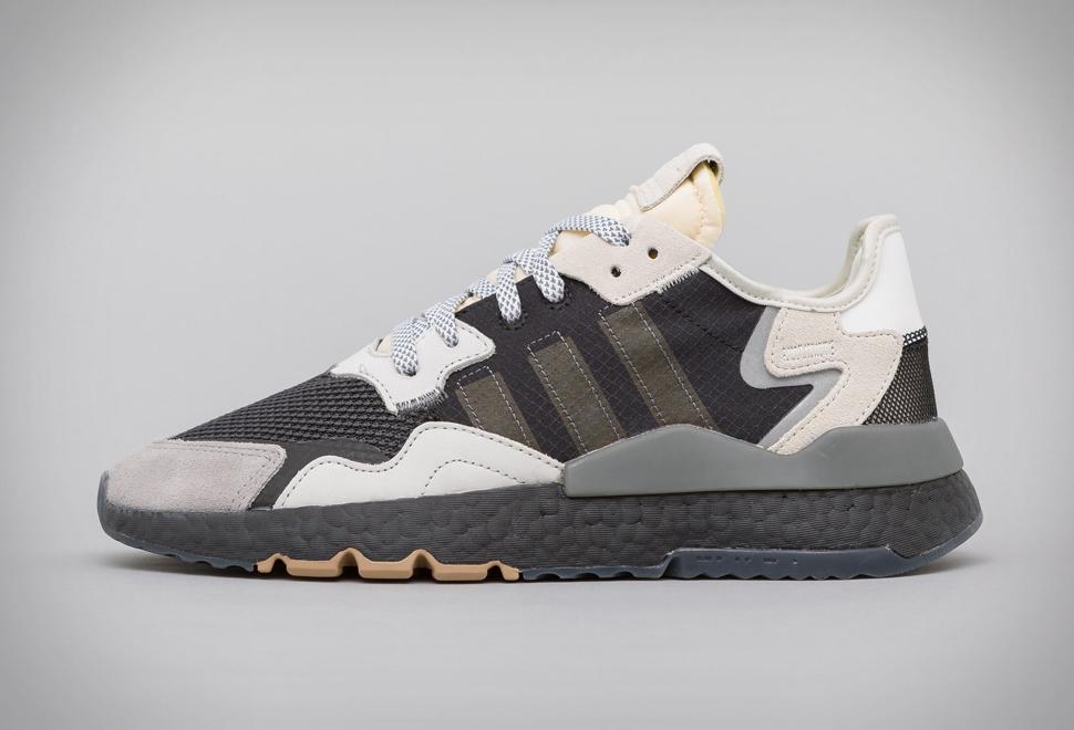 Adidas Nite Jogger Core Black/Carbon | Image