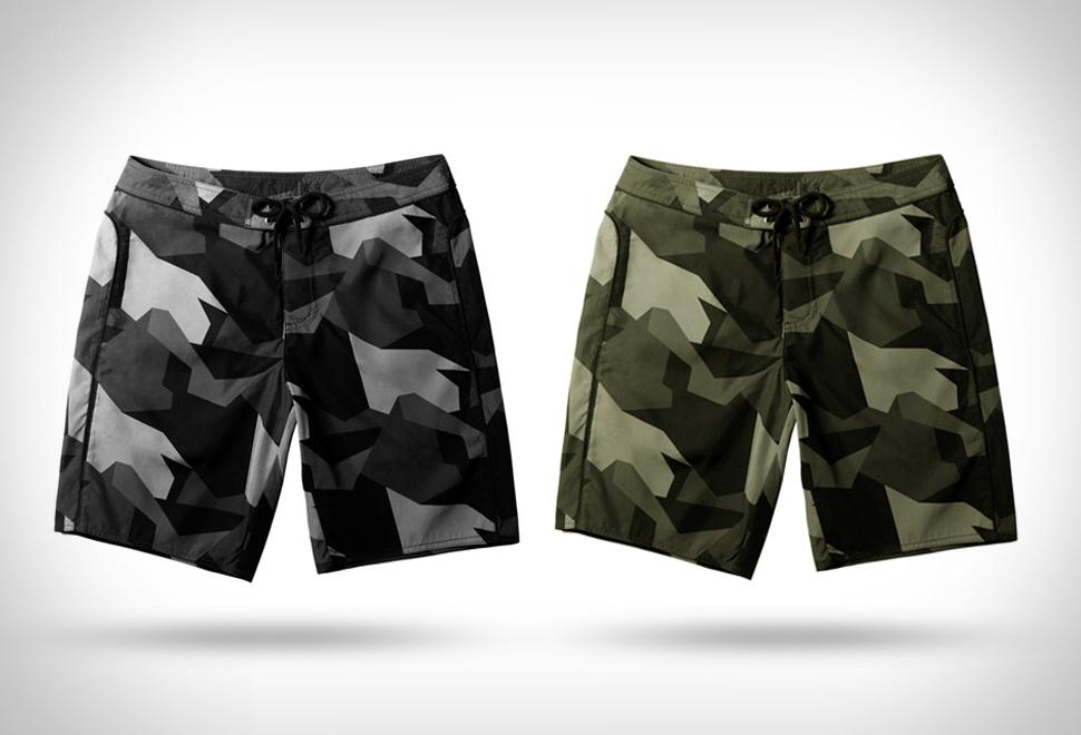 Aether Camo Boardshorts | Image