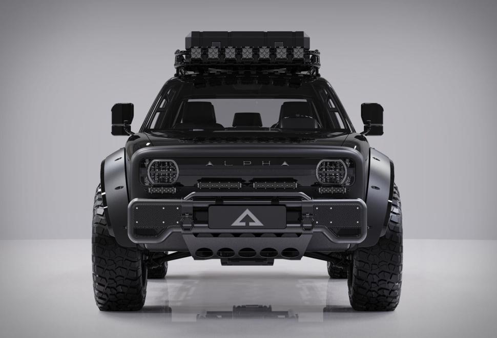 Alpha Superwolf Electric Truck | Image
