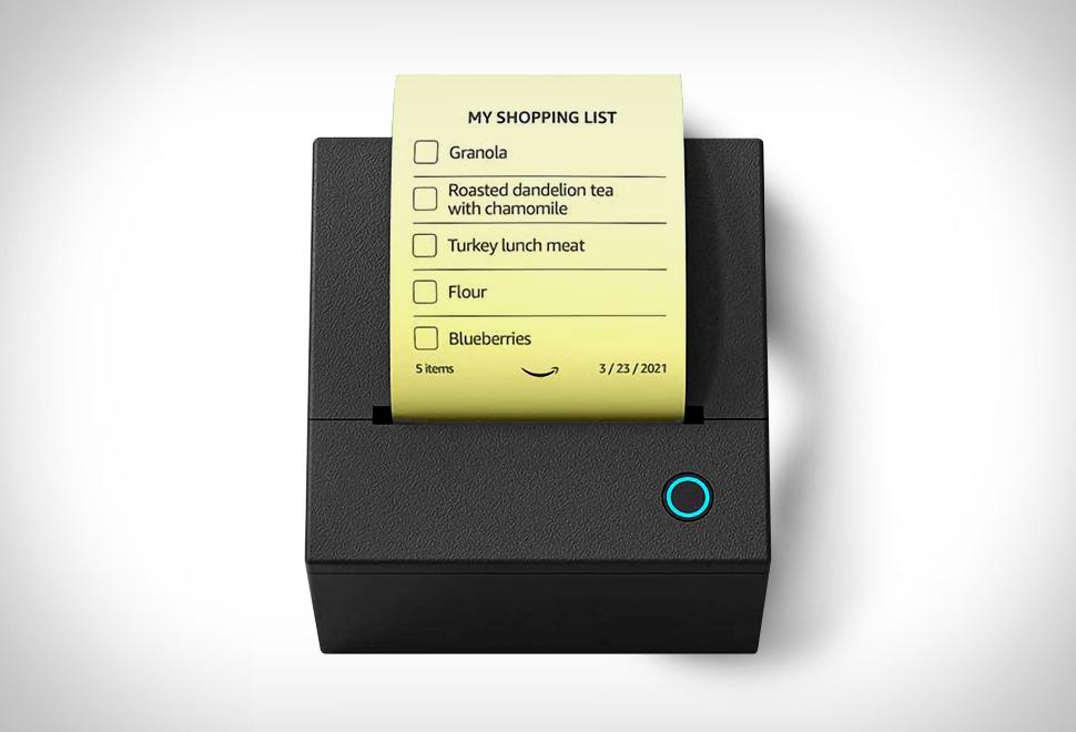 Amazon Smart Sticky Note Printer | Image