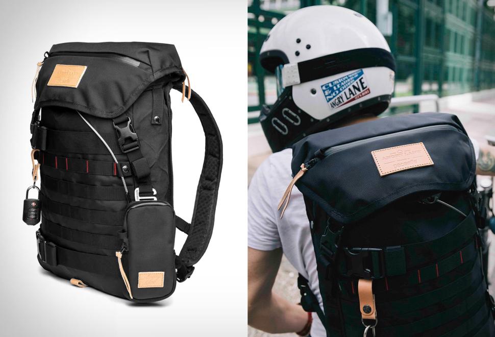 Angry Lane Black Rider Daypack | Image