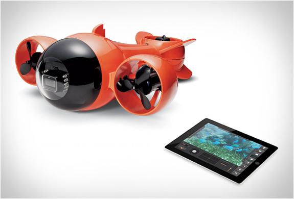 Aquabotix Hydroview | Ipad Submarine Camcorder | Image
