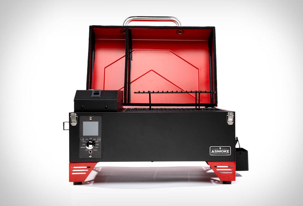 Asmoke Portable Pellet Grill | Image