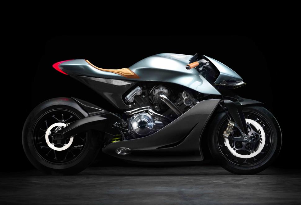Aston Martin AMB 001 Motorcycle | Image