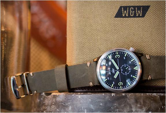 Avi 8 X Worn Amp Wound Watch