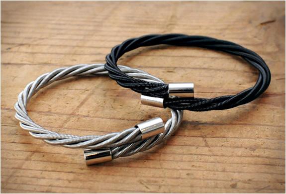 Bass Guitar String Bracelets | Image