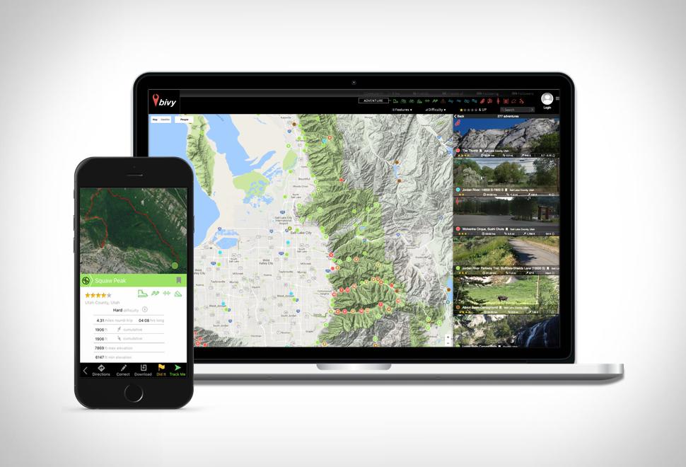 Bivy Adventure App | Image