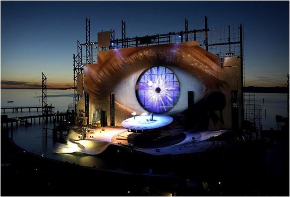 Bregenz Festival Opera On The Lake Austria