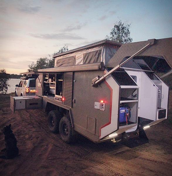 Bruder Expedition Trailer