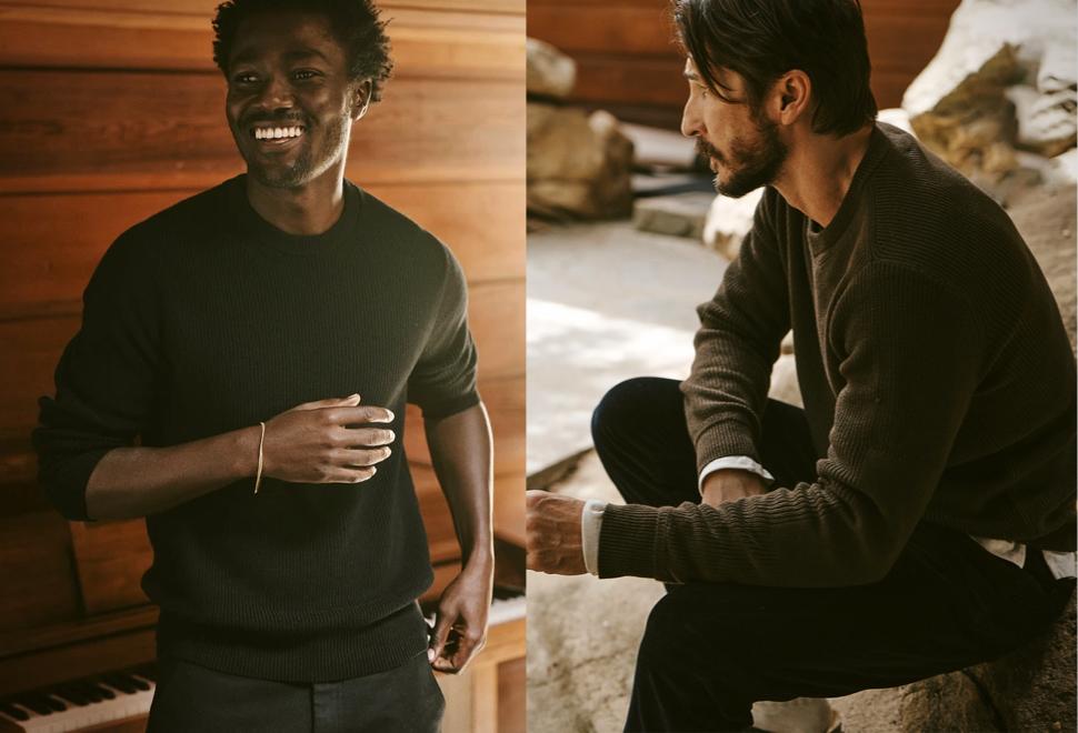 Buck Mason Autumn Sweaters | Image