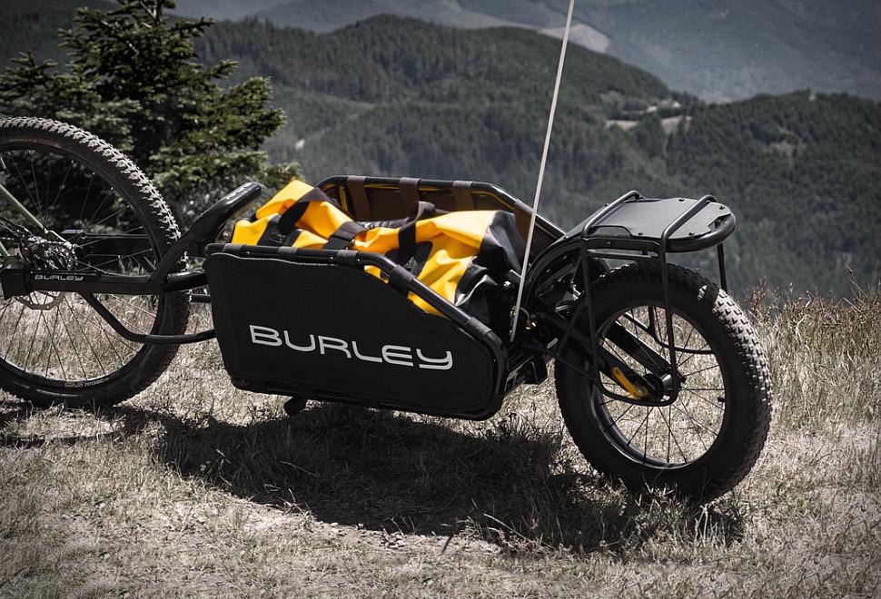 Burley Coho XC Bike Cargo Trailer | Image