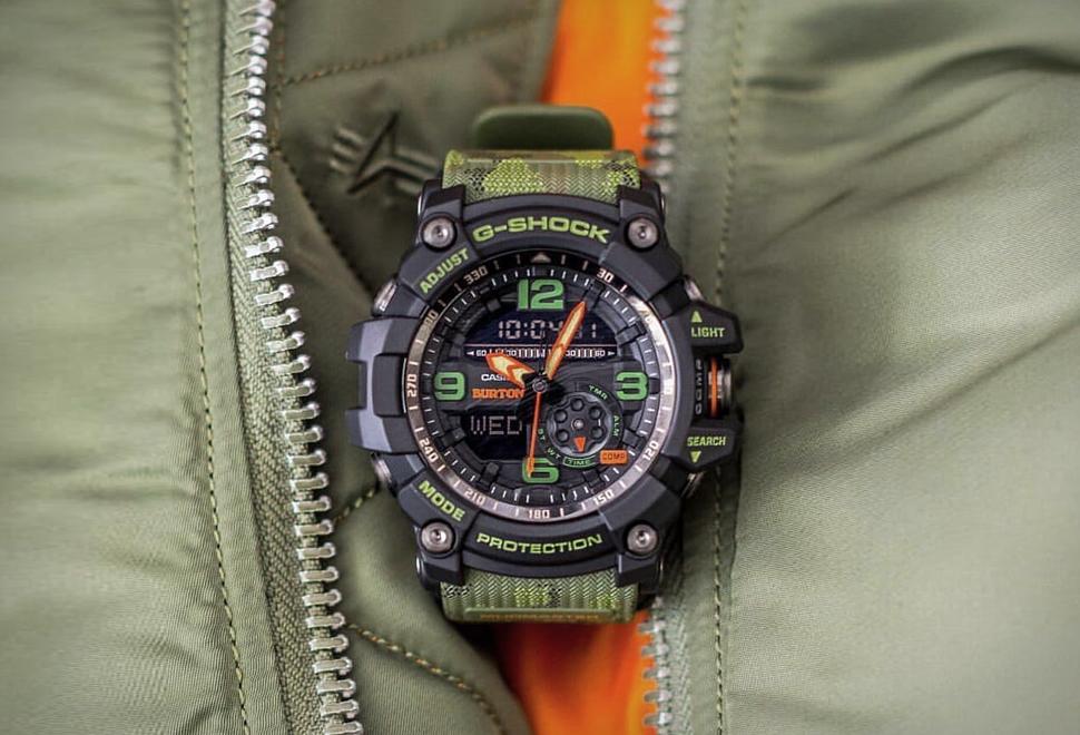 Burton x G-Shock Mudmaster | Image