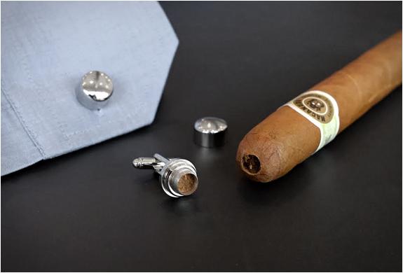 Cigar Punch Cufflinks | Image