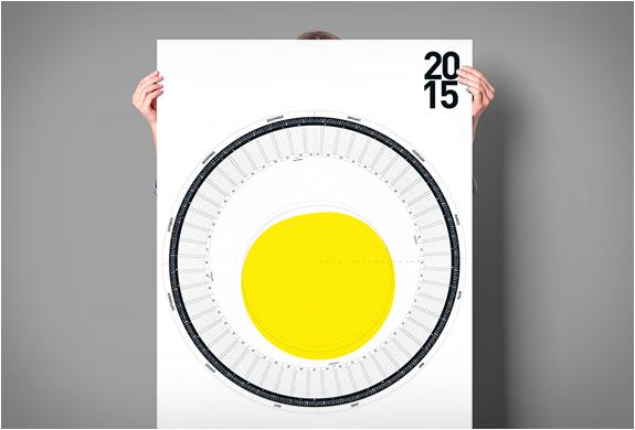 Circular Calendar 2015 | Image
