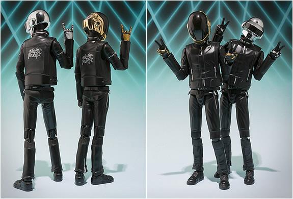 Re Chrome Rims >> Daft Punk Action Figures