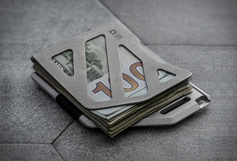 Dango Titanium Money Clip | Image