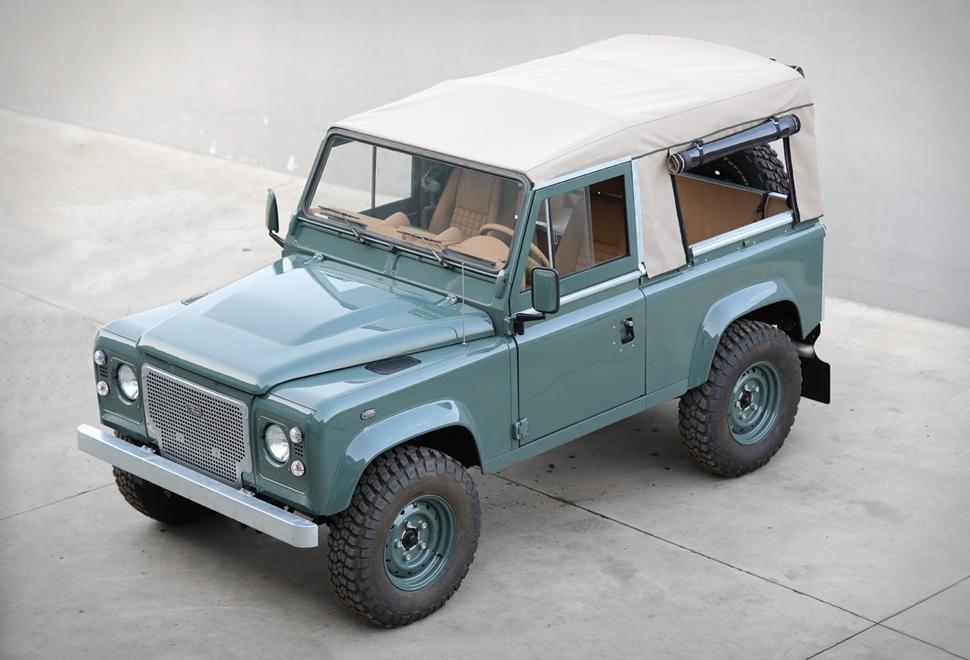 Land Rover Defender D90 Keswick Green | Image