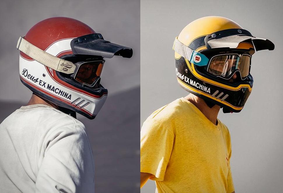 Deus Django Vintage MX Helmet | Image
