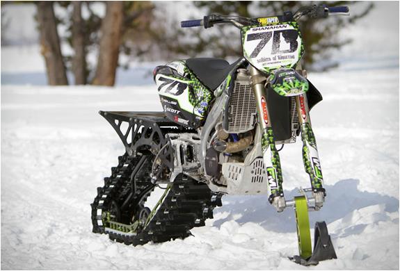 Snow Dirt Bike >> Dirt Bike Snow Kit
