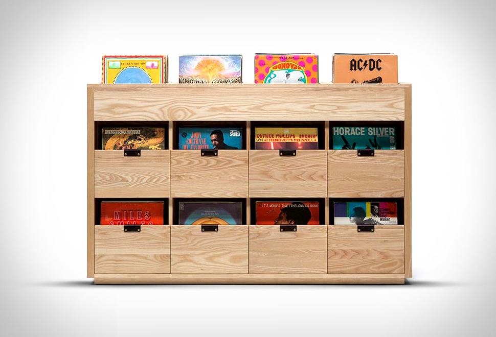 Dovetail Vinyl Storage Cabinet | Image