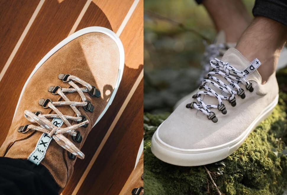 Duke + Dexter Drake Suede Sneaker | Image