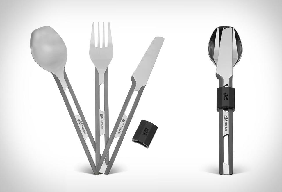 Esbit Titanium Cutlery Set | Image