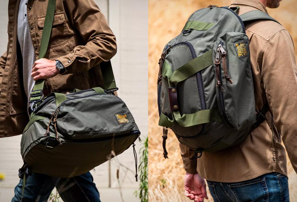 Filson Duffel Backpack Hybrid | Image