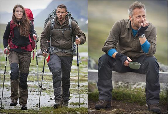 Vidda Pro Trekking Trousers | By Fjallraven | Image