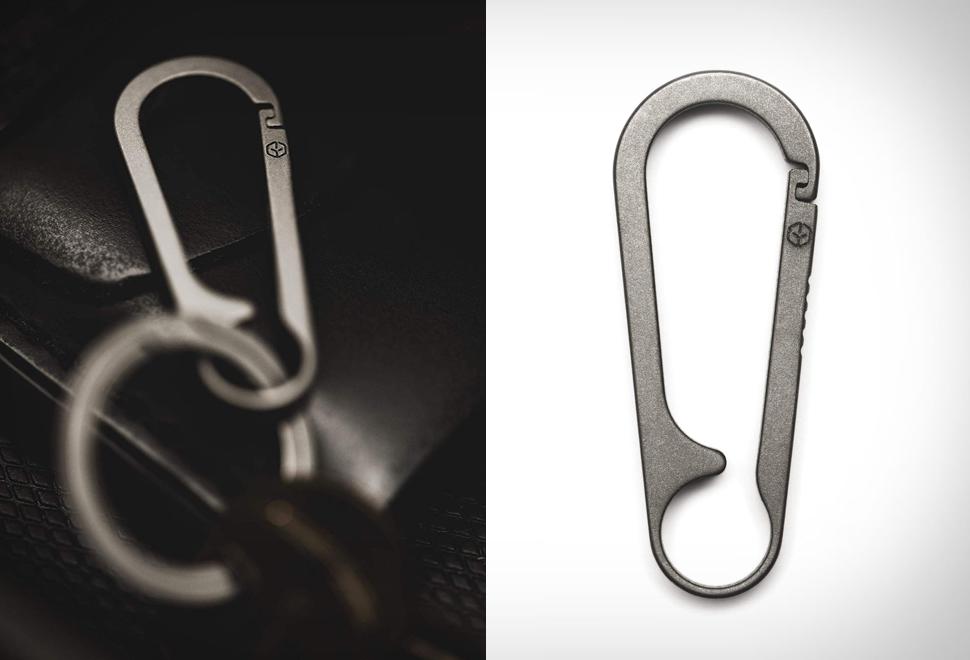 G2 Titanium Carabiner Keychain | Image