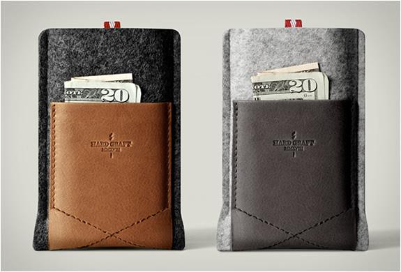 Pocket Phone Case | By Hard Graft | Image
