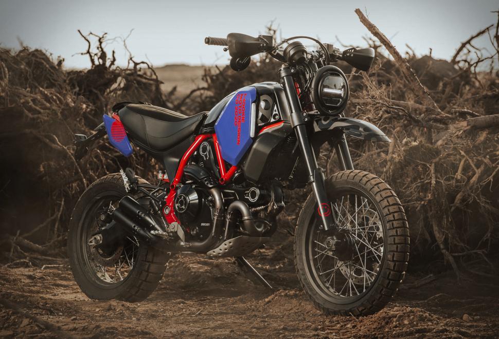 Hookie Ducati Scorpian | Image