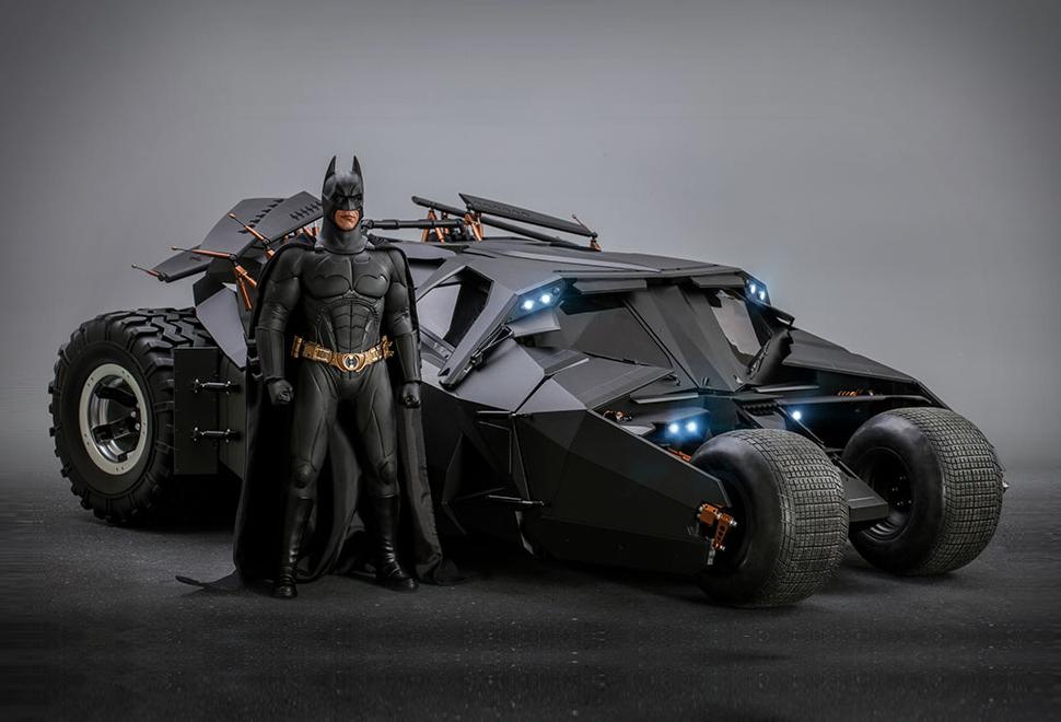 Hyper Realistic Batman & Batmobile Collectibles | Image