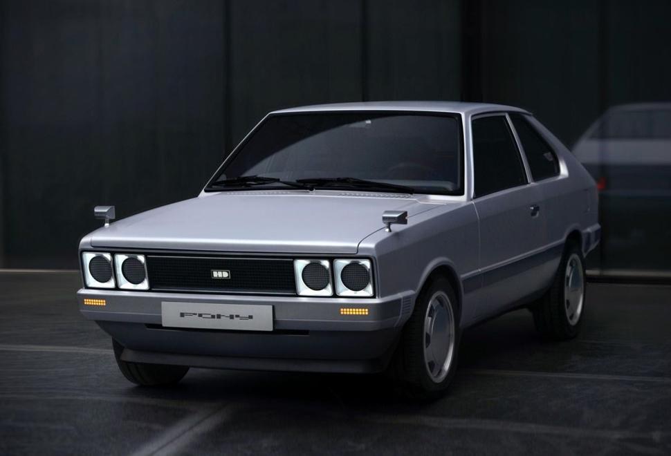 Hyundai Pony Heritage EV | Image
