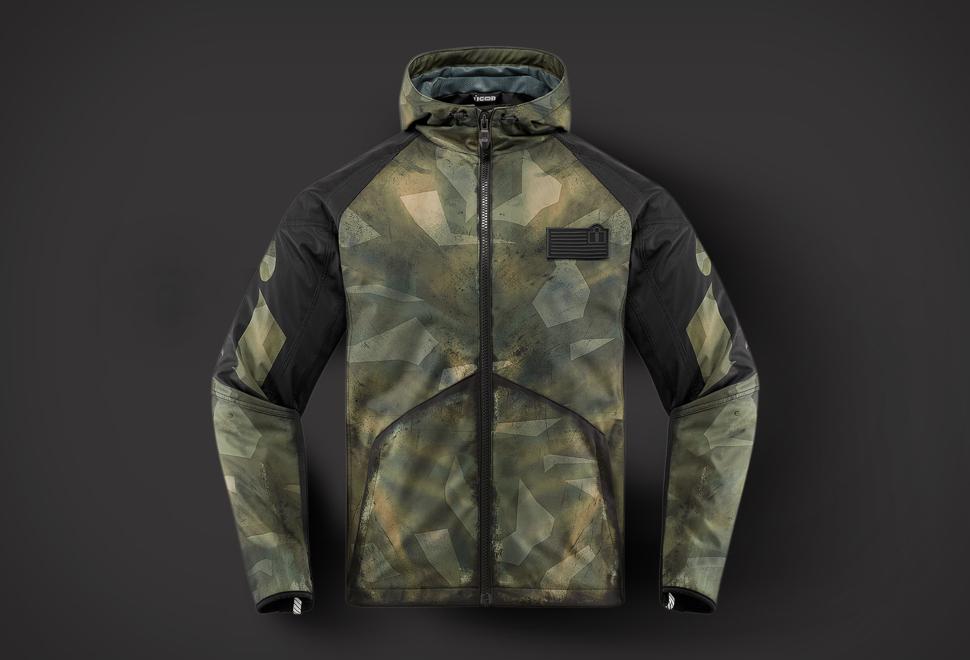 Icon Merc Battlescar Jacket | Image