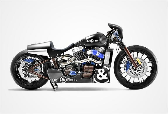 BELL & ROSS X HARLEY DAVIDSON | NASCAFE RACER MOTORBIKE | Image