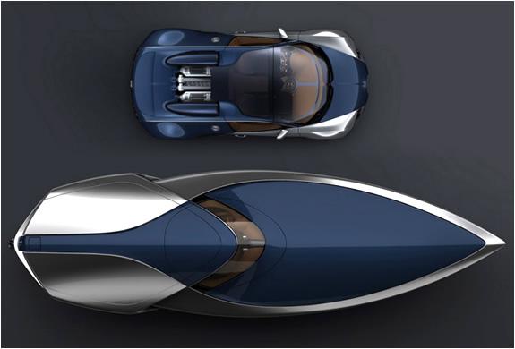 Bugatti Veyron Sang Bleu Speedboat Concept | Image