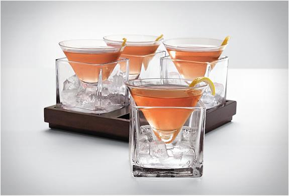 Cubist Martini Set | Image