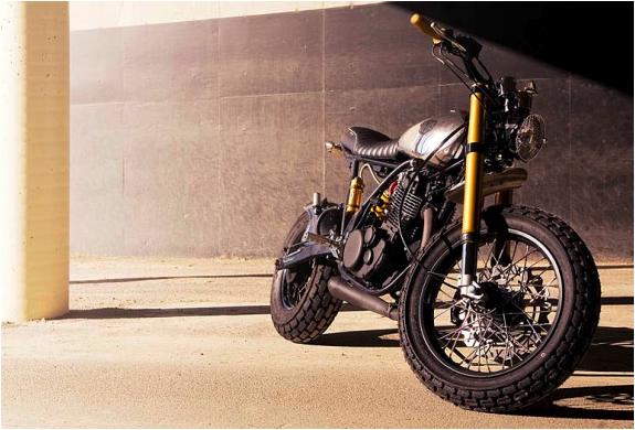 DEUS MONO SR542 MOTORCYCLE | Image