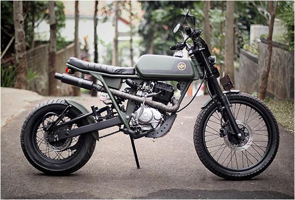 HONDA CB125 CUSTOM | BY HAJARBROXX MOTORCYCLES | Image