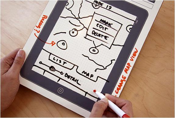 IPAD DRY ERASE BOARD | BY UI STENCILS | Image