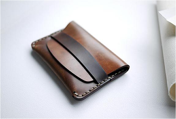 Makr Flap Slim Cordovan Wallet | Image