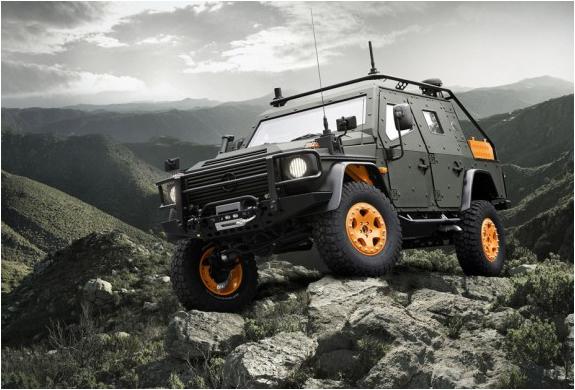 Mercedes-benz G-wagon Lapv 6.x Concept | Image