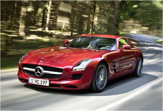 Mercedes Benz Slg Amg Roadster | Image