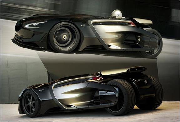 Electric Peugeot Ex1 | Image