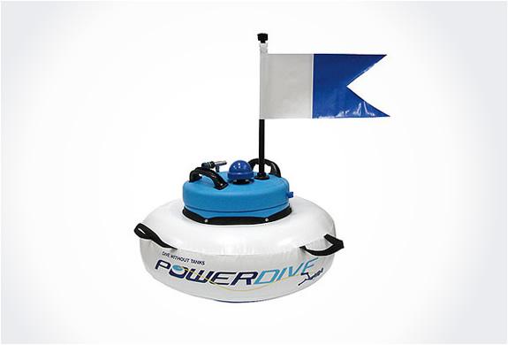 Power snorkel - Floating dive compressor ...