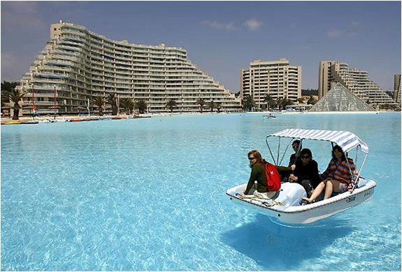 San Alfonso Del Mar Resort >> Worlds Largest Swimming Pool San Alfonso Del Mar Resort Chile