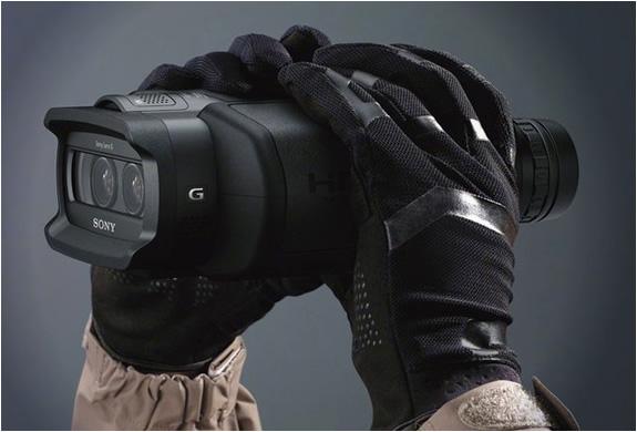 Sony Digital Recording Binoculars | Image
