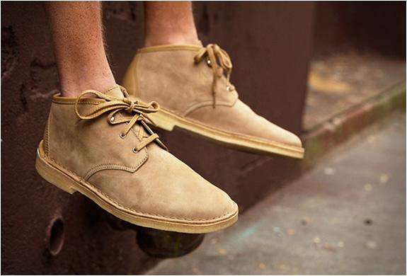 Supreme X Clarks Desert Chukka Boots | Image